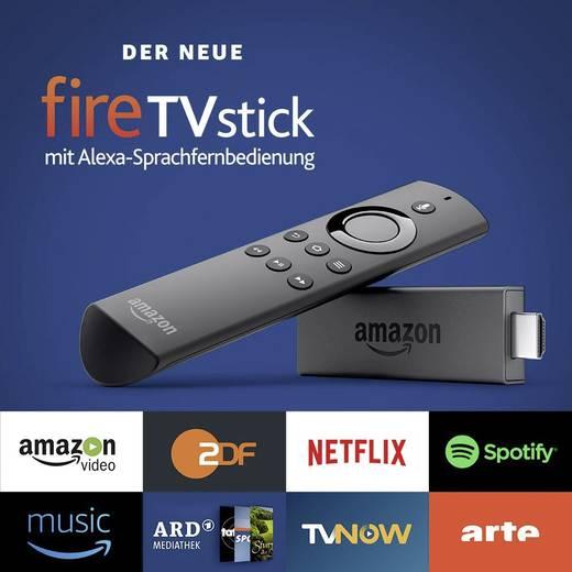Amazon Fire TV Stick mit Alexa Sprachfernbedienung mit Newslettergutschein und Neukundenbonus bei Conrad online