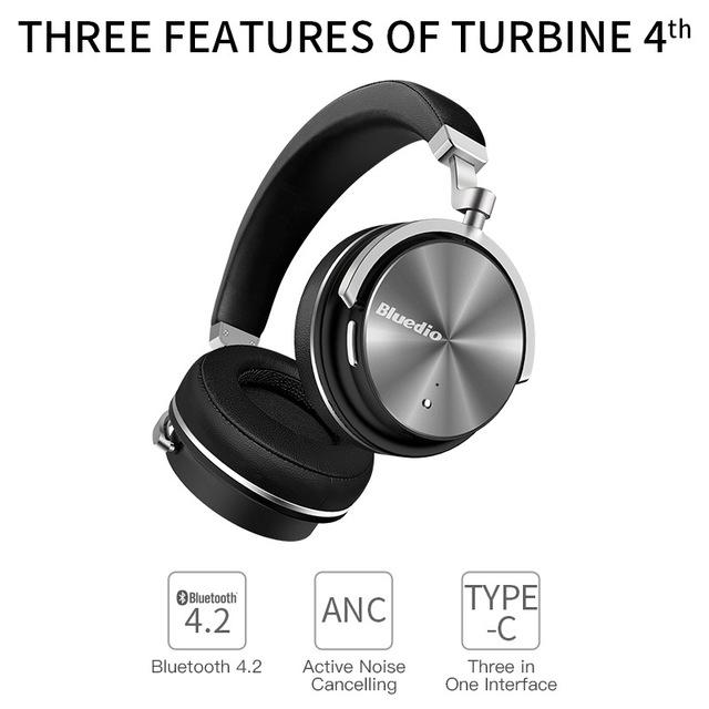 Bluedio T4 (Turbine) Active Noise Cancelling (nur noch 13Std)