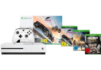 Xbox One S (1TB) Forza Horizon 3 Bundle + Call of Duty: WWII & Assassins's Creed Origins für 277€ versandkostenfrei (Media Markt)