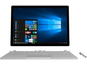 [Mediamarkt Singlesday] MICROSOFT Surface Book mit Performance Base Intel® Core™ i7, 256 GB SSD, 8 GB RAM, NVIDIA GeForce GTX 965M, Windows 10 Pro, inkl. Pen