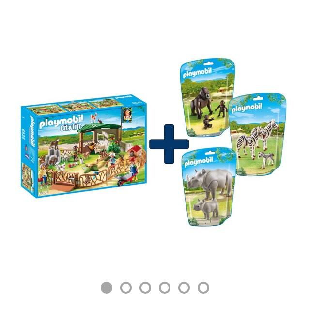 Playmobil Streichelzoo Mega-Set