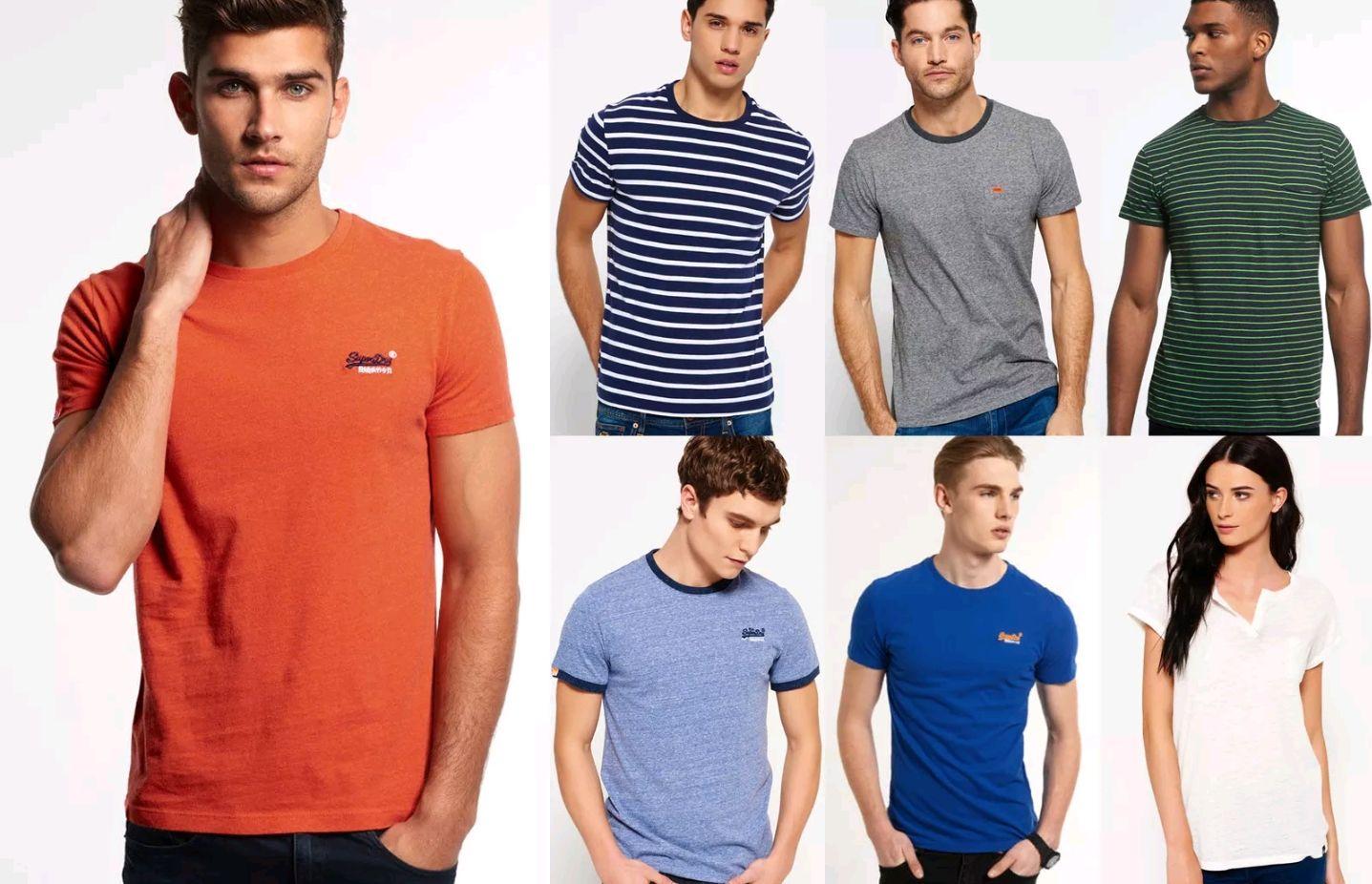 [eBay-WOW] Superdry für Männer und Frauen T-shirts Versch. Modelle und Farben