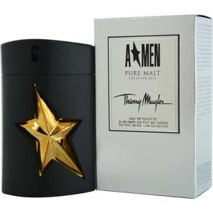 [Amazon.de] Thierry Mugler A Men Pure Malt Eau de Toilette (100ml) für 36,10€