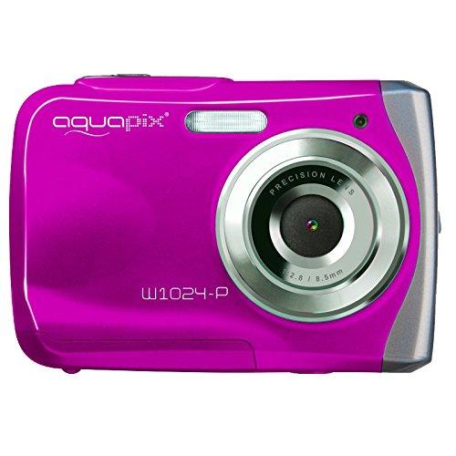 [Amazon] Easypix W1024 Splash Digitalkamera (10 Megapixel, 4-fach digitaler Zoom, 6,1 cm (2,4 Zoll) Display) pink