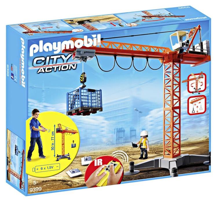 Playmobil 9399 Großer Baukran bei Real