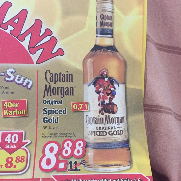 Captain Morgan bei Zimmermann