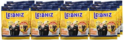 Leibniz Gru, Minions & Family Butterkeks-Minis, 12er Pack (12 x 125 g )