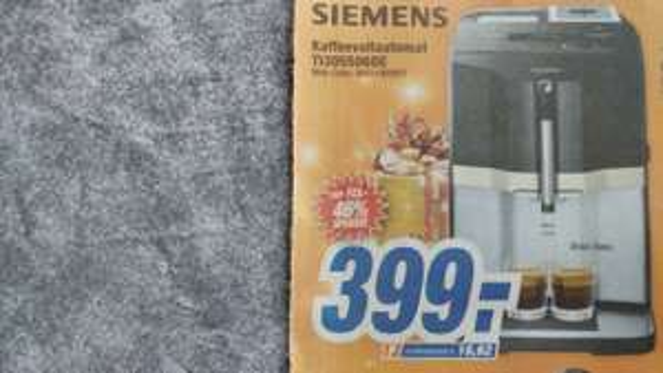 Siemens Kaffeevollautomat EQ 3 S500