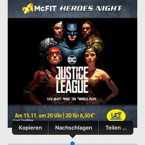 ULTIMATIVE ACTION, PURES ADRENALIN: DIE McFIT HEROES NIGHT!