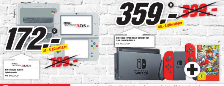 [Lokal] Mediamarkt Rostock Brinkmannsdorf - Nintendo New 3DS SNES Edition
