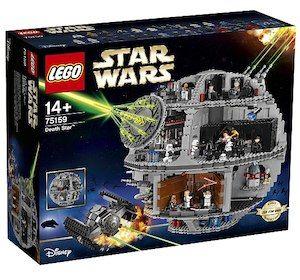 Lego Todesstern bei Toysrus
