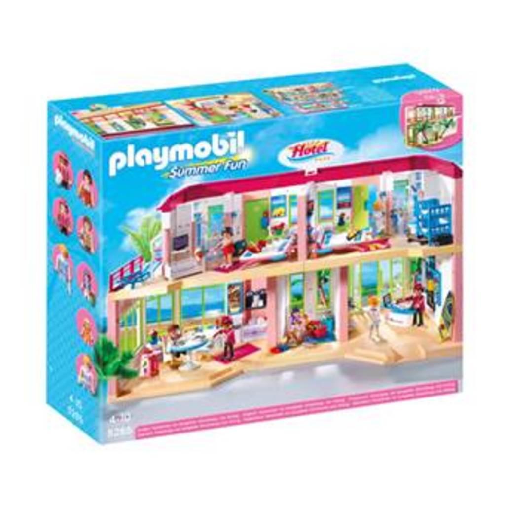 Playmobil 5265 - Großes Ferienhotel mit Einrichtung bei Real
