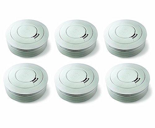 [AMAZON] Ei Electronics Ei650 10-Jahres-Rauchwarnmelder, 6 Stück (günstigster Einzelpreis 18,19€ - im Deal 16,50€ Stück) - Update: gilt auch für 2er, 3er und 4er Pack!