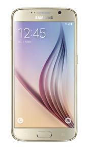 [Ebay ab ca. 08.00 Uhr] Samsung G920F GALAXY S6 32GB Gold LTE 12,92cm (5,1 Zoll) 16 MegaPixel NEU OVP für 164.90€