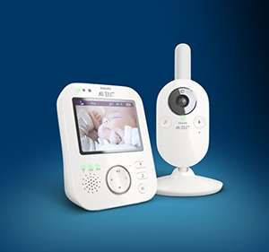 Philips Avent SCD630/26 Video-Babyphone, 3,5 Zoll Farbdisplay [Amazon Tagesangebot]