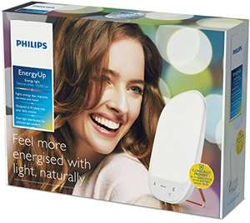 Philips HF3419/01 EnergyUp White (natürliches weißes Licht, Tageslicht, bis 10.000 Lux, Dimmer) [Amazon Tagesangebot]