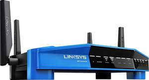 [amazon.es] Linksys Wireless AC3200 WRT3200ACM-EU Open Source Router (802.11ac, 4x 1 GbE, MU-MIMO, 1x USB 3.0, OpenWRT, DD-WRT, 1x eSata Smart Wireless Lan App) schwarz