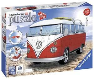 Günstige Ravensburger 3D-Puzzle - Volkswagen T1/ Surfer Edition für 9,98 € / 4 Modelle Night-Edition für 14,99 € und noch mehr Puzzle @ amazon