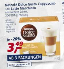 [Real] Dolce Gusto Kapseln