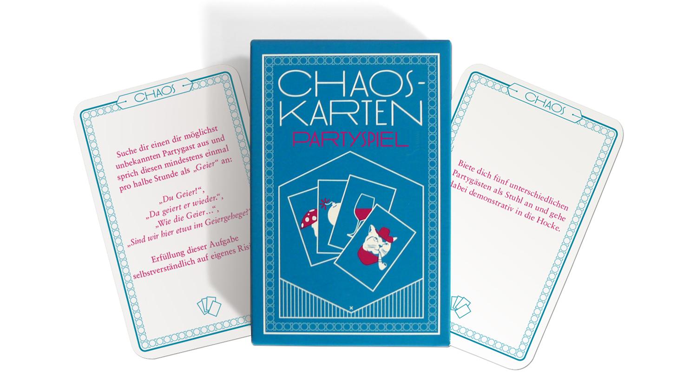 Kostenloses Chaoskarten-Partyspiel zum Downloaden