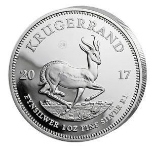 Krügerrand Silber 2017 zum weltweiten Tiefstpreis