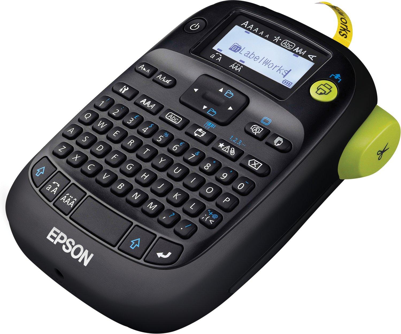 [office-partner] Epson LabelWorks LW-400 VP bis 18mm inklusive Tragekoffer (6/9/12/18mm Bandbreite, manuelle Schneideinheit)