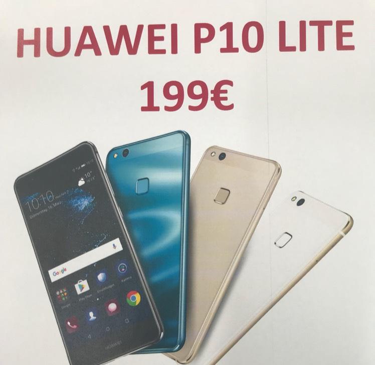 [Lokal] Huawei P10Lite für 199€[Saturn Tübingen]