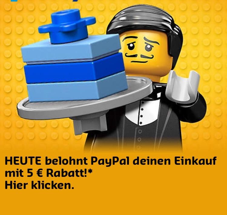 5€ Paypal Gutschein - Lego Shop