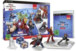 Disney Infinity 2.0 Marvel Super Heroes Starter Set PS3 [aktrade.de]