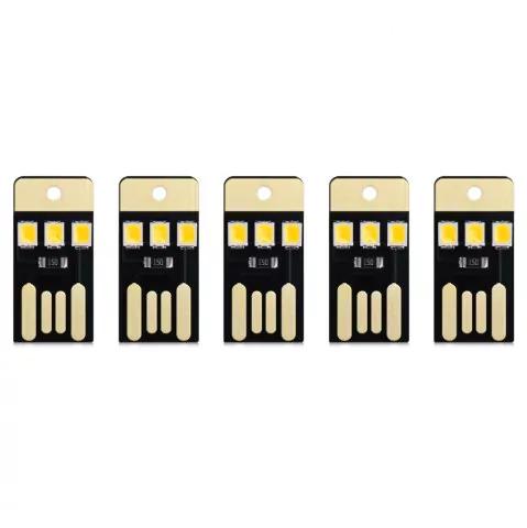 5 x Mini USB LEDs für 1 Cent (Rosegal)