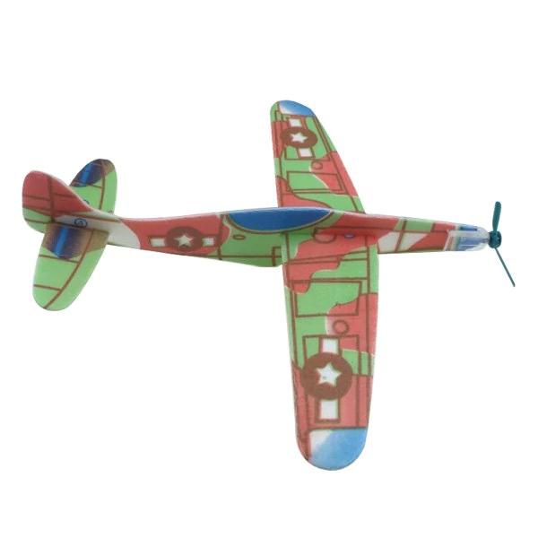 [ROSEGAL] Polystyrol Flugzeug