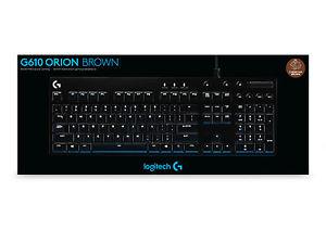 Logitech G610 Orion Brown Tastatur - USB-Anschluss, mechanisch, beleuchtet bei redcoon/ebay
