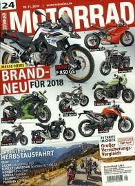 Motorrad Magazin Jahresabo (26 Ausgaben) für 109,20 € mit 85€ Amazon-Gutschein