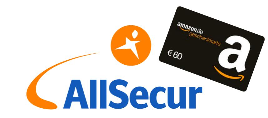 60€ Amazon Gutschein für Hausratversicherung bei Allsecur über Abo24