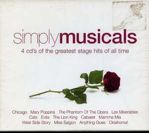 Simply Musicals 4 CDs inkl. MP3s [Prime]
