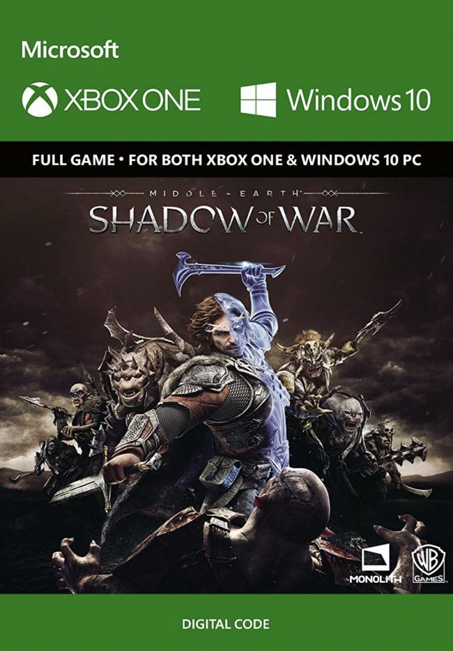 Mittelerde: Schatten des Krieges (Xbox One/PC Digital Code Play Anywhere) für 27,49€ (CDKeys)