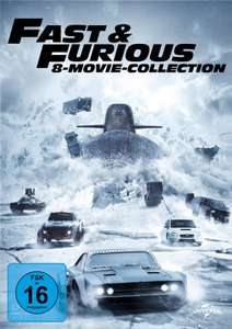 Fast & Furious - 8 Movie Collection DVD