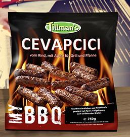 (Lokal Kaufland Erkner) Tillmans TK BBQ Grill-Cevapcici 750g abverkauf 1cent