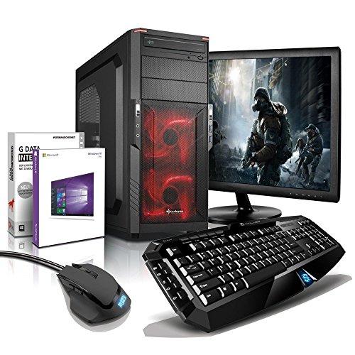 "[Amazon] Komplett-PC AMD 6-Kern 6x3.90 GHz, GeForce GTX1050, 22"" LED, Gaming Tastatur+Maus, 8GB DDR3, 2TB, Windows10,"
