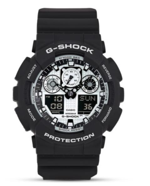Casio G-SHOCK Chronograph GA-100BW-1AER
