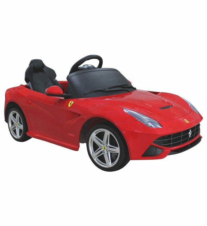 Spielfahrzeug Ferrari für Kinder von 3 - 5 Jahren