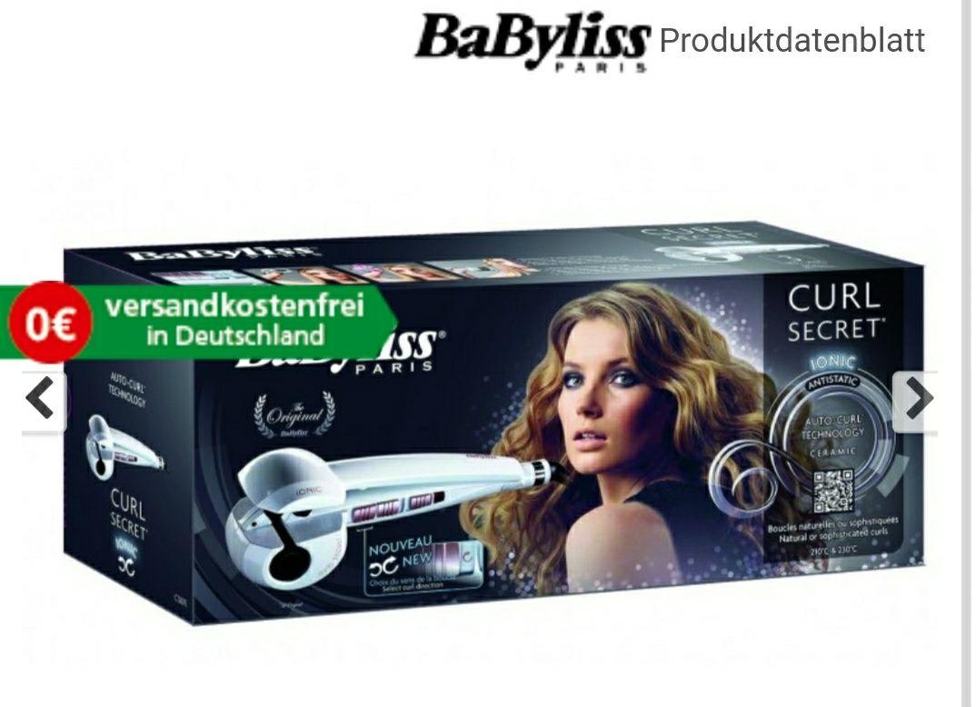 BaByliss C1201E Curl Secret Ionic Welleneisen