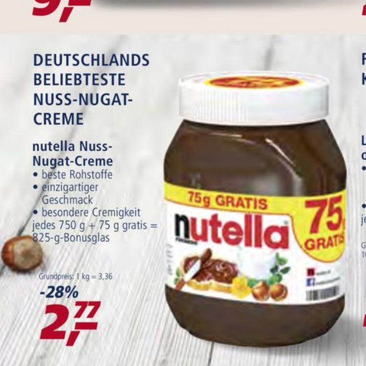 *Hamburg* Nutella bei REAL