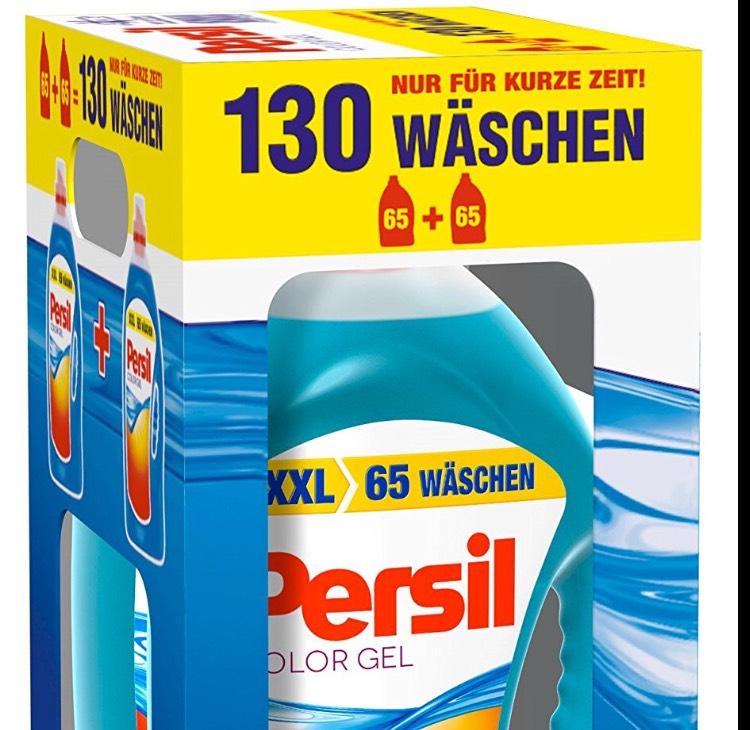 [amazon Angebot des Tages] Persil Color Gel 130WL 12c/WL