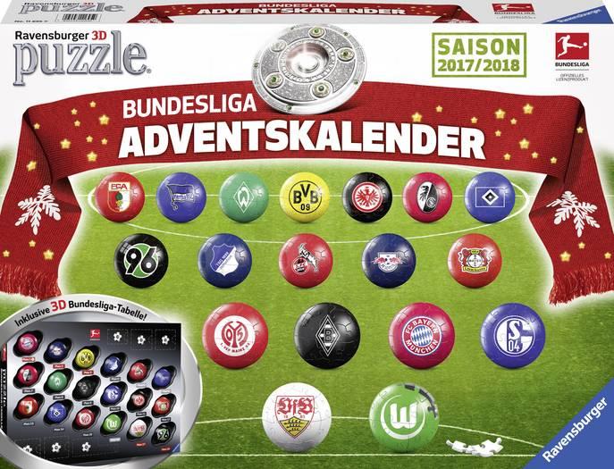[voelkner.de] Ravensburger 11695 - Adventskalender Bundesliga 3D Puzzle