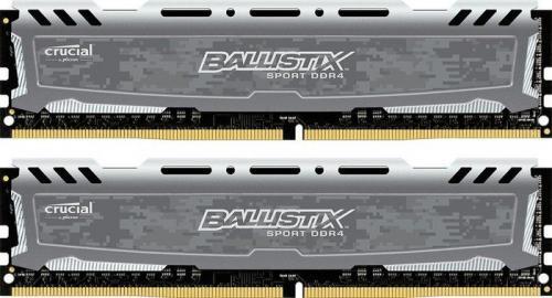 Crucial Ballistix Sport LT 16GB (2x8GB) DDR4-2400 CL16