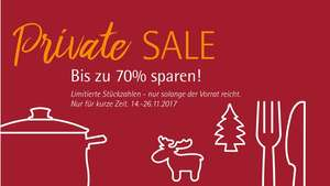 WMF Private Sale 14.-26.11. [meinWMF]