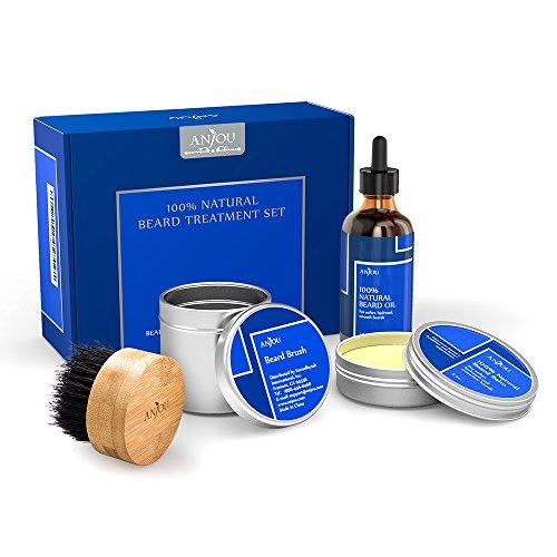 Movember: Anjou Bartpflegeset (Wachs, Öl, Bürste) durch Coupon für 11,99€