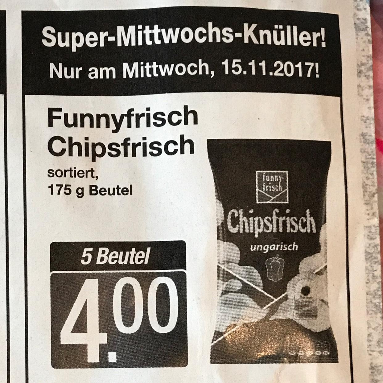 [Markant/ Lokal?] 5xFunny-Frisch für 4€