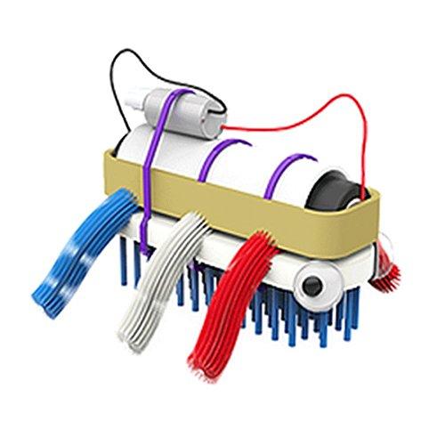 Bristlebot Kit – Mein erster Roboter I Miniroboter zum Selbst Bauen Do It Yourself Bürstenroboter mit Vibrations-Motor Robotik-Bausatz für Kinder FÜR 7,99€ inkl. Versand[Amazon]